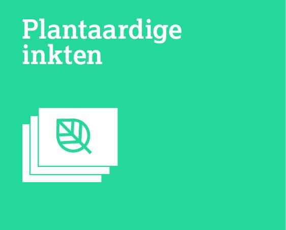 Plantaardige inkten