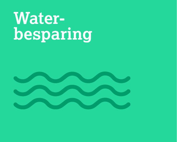Water- besparing